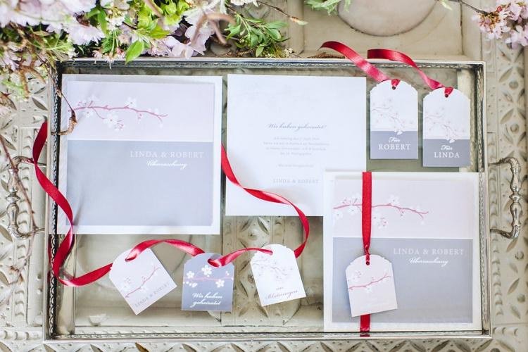 Einladung und Papeterie